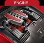 Engine specifications on the Ferrari Fiorano 599 GTB